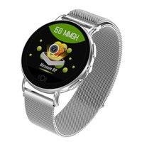2019 New Color Screen Android IOS Intelligent Relogio Men Smart Watch Women HOT Sports Watch Couple Waterproof Clock Heart Rate