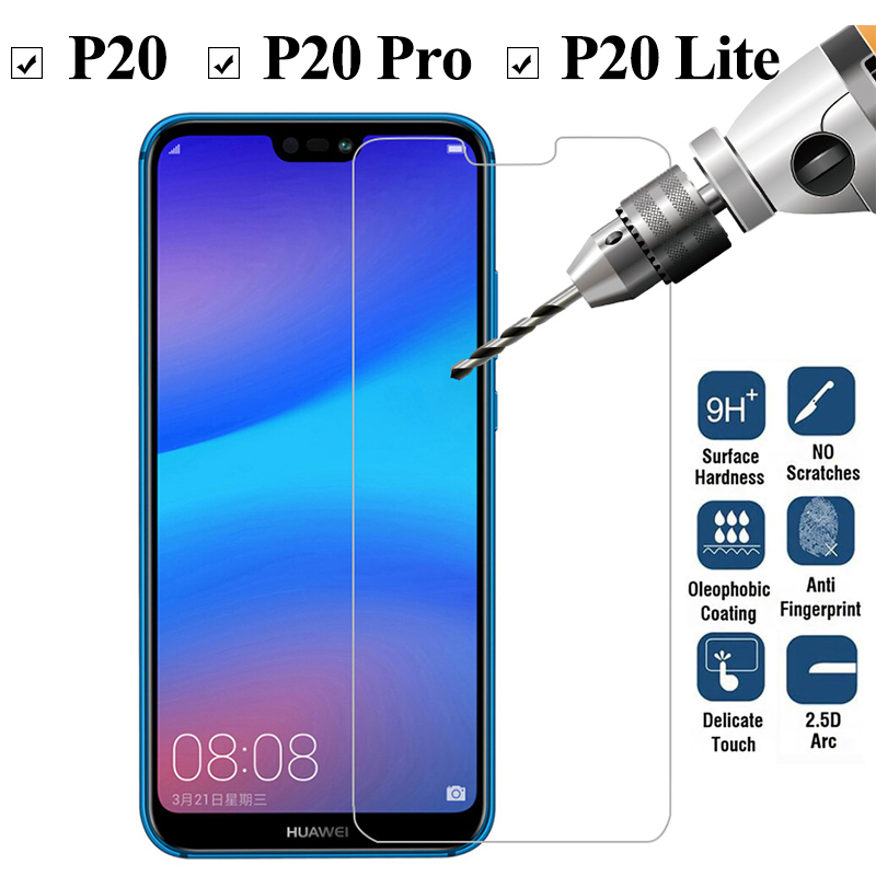 9H Protective Glass On The For Huawei P20 Lite Pro Screen Protector Film For Huawei P 20 Light 20P P20pro P20lite