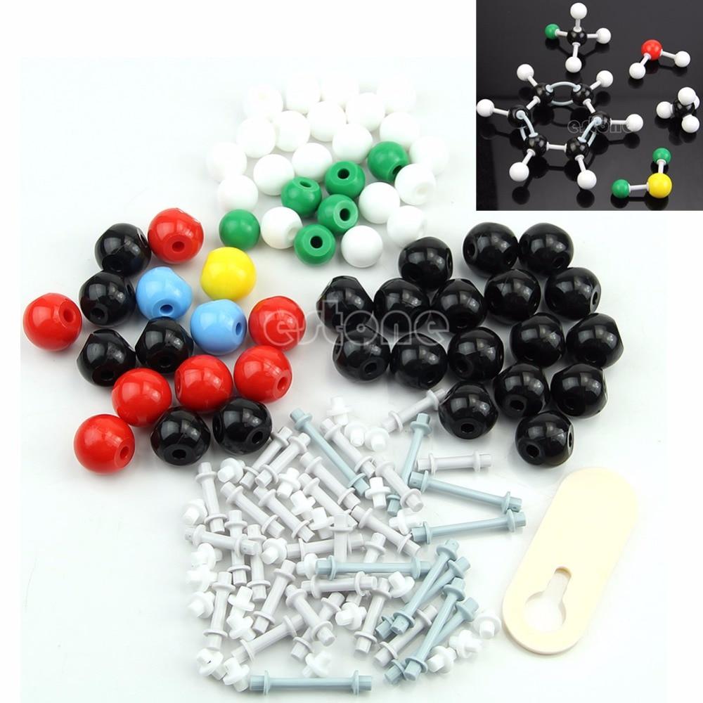 Novo átomo científico química orgânica XM-005 modelos moleculares ensinar conjunto modelo kit