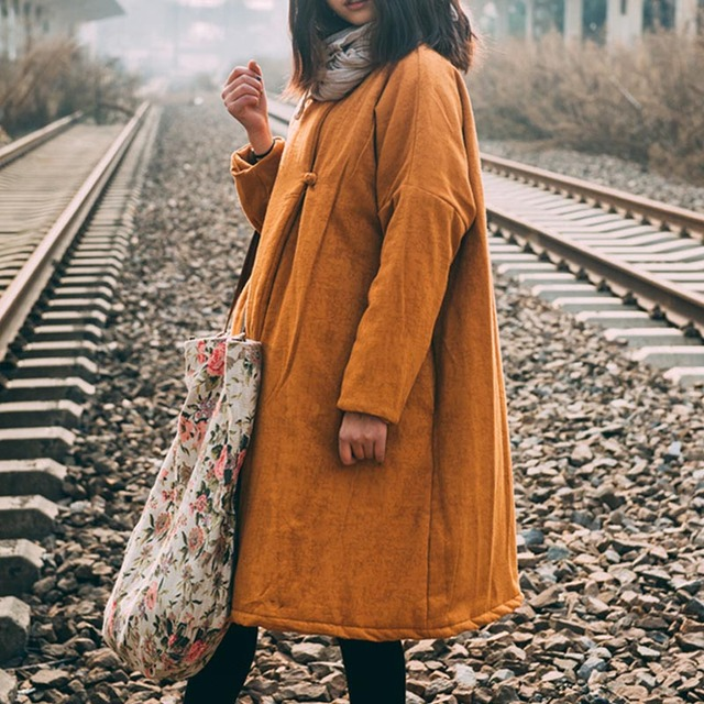 Winterjas Trend 2019.Aliexpress Com Koop Winterjas Vrouwen 2019 Vintage Nationale Trend