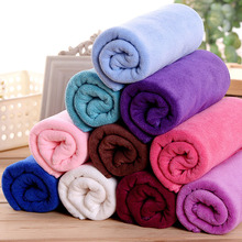 Hair Salon Barber Shop Towel Foot Beauty Dedicated Baotou Dry Super Absorbent Products 35x75cm