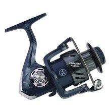 yumoshi Fishing Reel 12 Ball Bearings Spinning Dual Brake System Smooth Metal Spool GT 5.0:1 TX3000 TX4000 TX5000 YTX6000