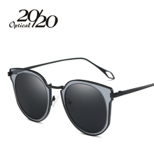 20/20 New Fashion Polarized  Sunglasses Women Luxury Brand Design Coating Pink Lens Sun glasses Driving Glasses UV400 P0886