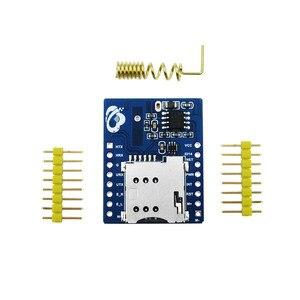 Image 2 - 10 adet/grup mini A6 GPRS GSM Kiti GA6 B Kablosuz Uzatma Modülü Kurulu Anten Test için SIM800L