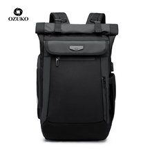 Ozuko new travel backpack Creative casual usb charging backpacks Male waterproof computer bag Large capacity multi-function bags
