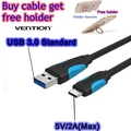 Vention USB Type C Cable 1M 2M 3A Type-C Cable for Xiaomi Mi5 Oneplus 2 3 LG G5 Nexus 5X 6P Huawei Mate 9 P9 Pixel Charger