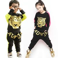 Kids Hip Hop Clothing Sets Spring Boutique Boy Clothes Toddler Girl Clothing Sets Children Costume Batwing