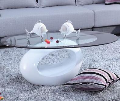 Современная мода творческий чайный столик несколько закаленное стекло чай несколько прос ...