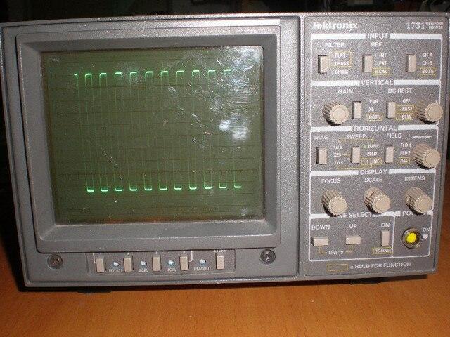 tektronix tek1731 waveform monitor tektronix 1731 vector rh aliexpress com