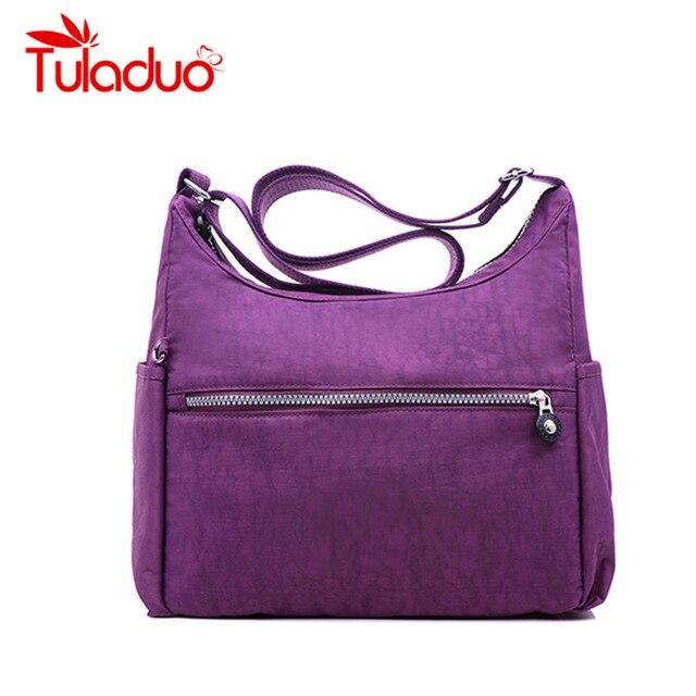 Women Nylon Handbag Designer Brand Original Bag Sac A Main Femme De Marque Female Shoulder Crossbody Bag Waterproof Zipper Bags