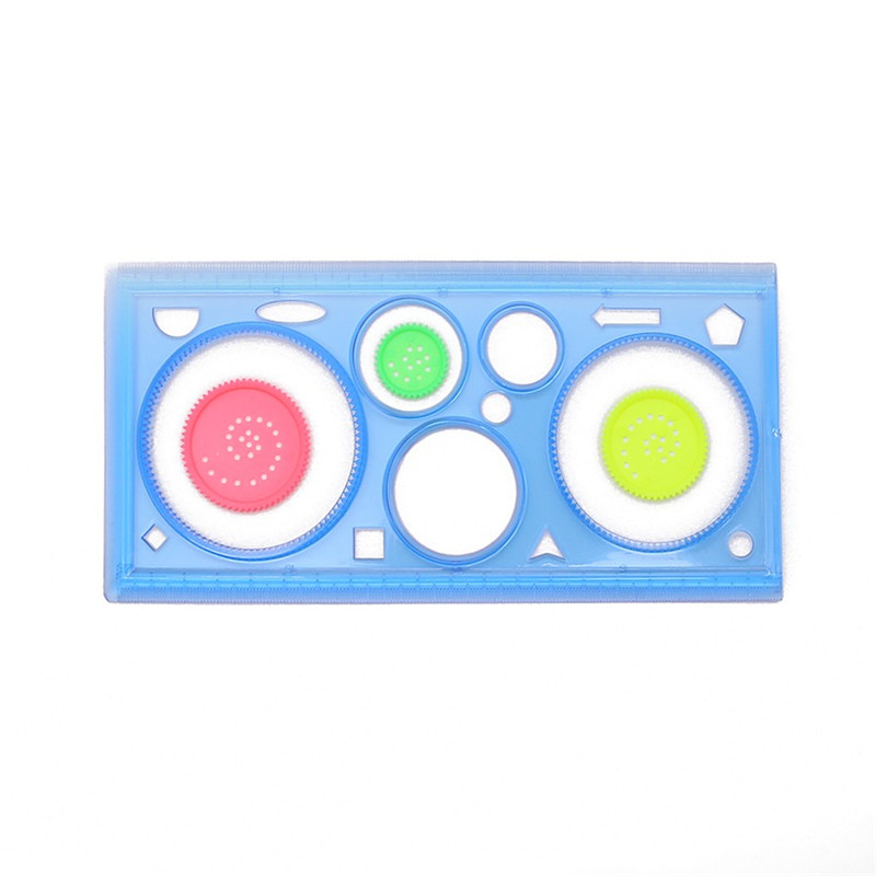 1 Pcs Spirograph Geometric Ruler Art Sets Drafting Tools Stationery Drawing Creative Gift For Children