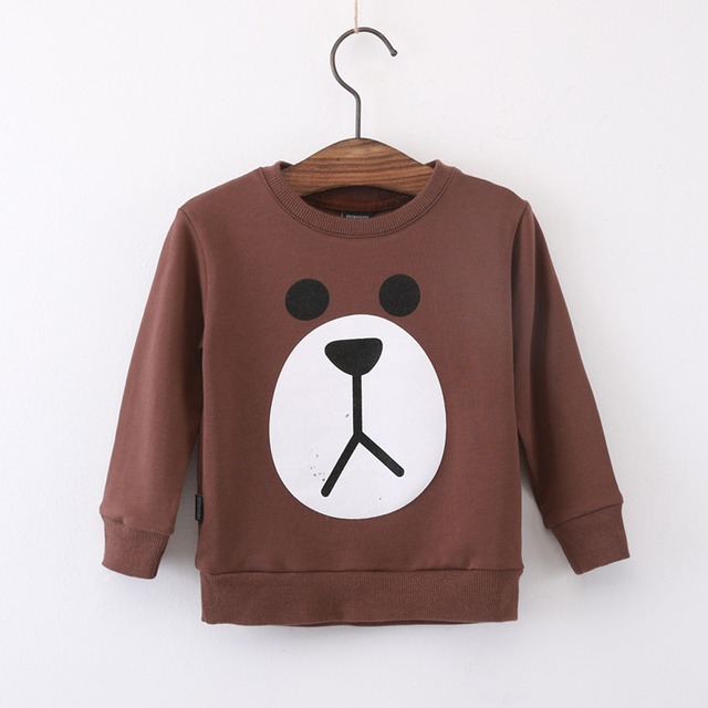 Bobo Choses Boys Girls T shirts Baby Cartoon Hoodies Sweatshirts Kids Cotton Long Sleeve Sweatshirts Children Clothes YA244
