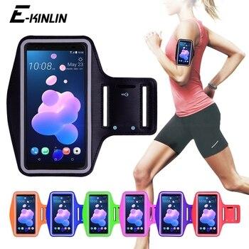 Перейти на Алиэкспресс и купить Спортивная сумка для бега и велоспорта, чехол для HTC Desire 19 10 Pro U19e 12s 19s 12 Plus Evo U12 U11 Eyes U Ultra Play Life, чехол на руку