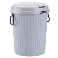 HIPSTEEN 10L/14L круглая форма мусорный бак пластиковый мусорный бак с нажимная крышка мусорный бак мусорный мешок Органайзер