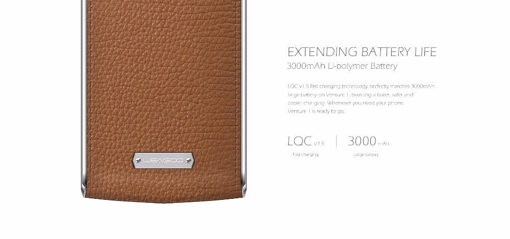 מקורי Leagoo V1 טלפון נייד 5.0 אינץ MTK6753 Octa-core אנדרואיד 5.1 3GB RAM 16GB ROM 13MP 3000mah טביעת אצבע בסמארטפון