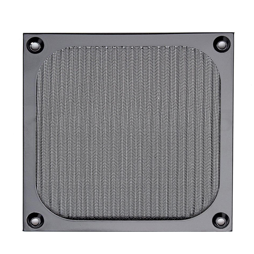120mm PC Computer Fan Cooling Dustproof Dust Filter Case Aluminum Grill Guard ...