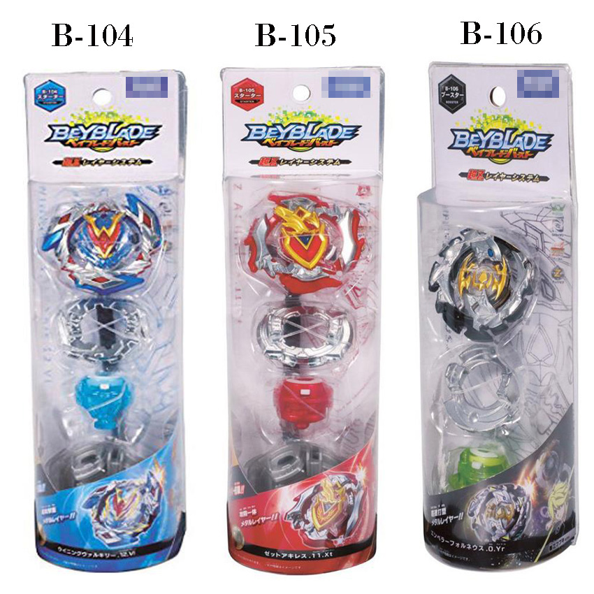 Original Product New Beyblade Burst Starter Zeno Excalibur bey blade B-104 B-105 B-106 With Launcher And Box Gifts For Kids сникеры kakadu
