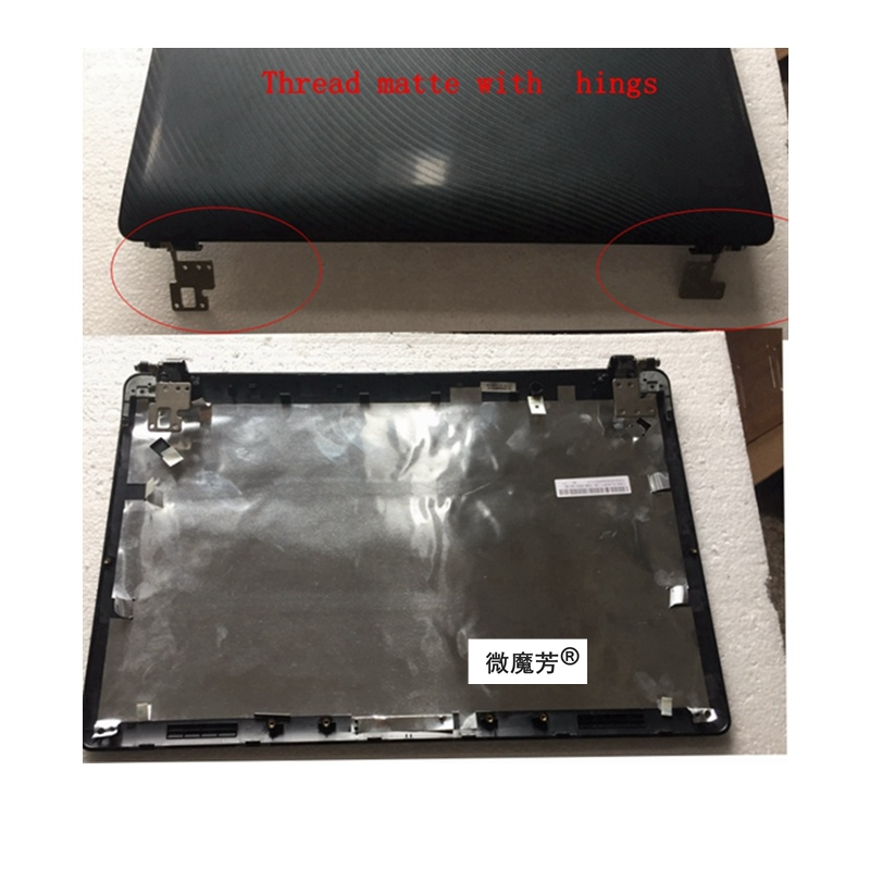 NEW Laptop Top Shell For Asus K52 A52 X52 K52f K52J X52JV A52J LCD Back Cover / Bezel Case/Hinges