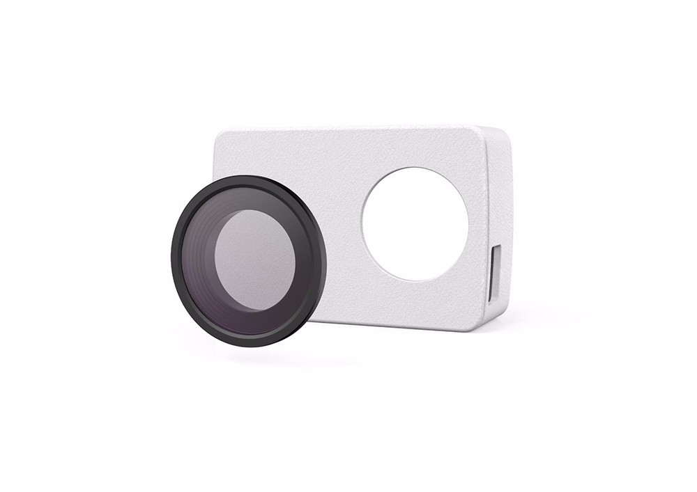 YI 4K Action Camera Protective Lens and Leather case 9