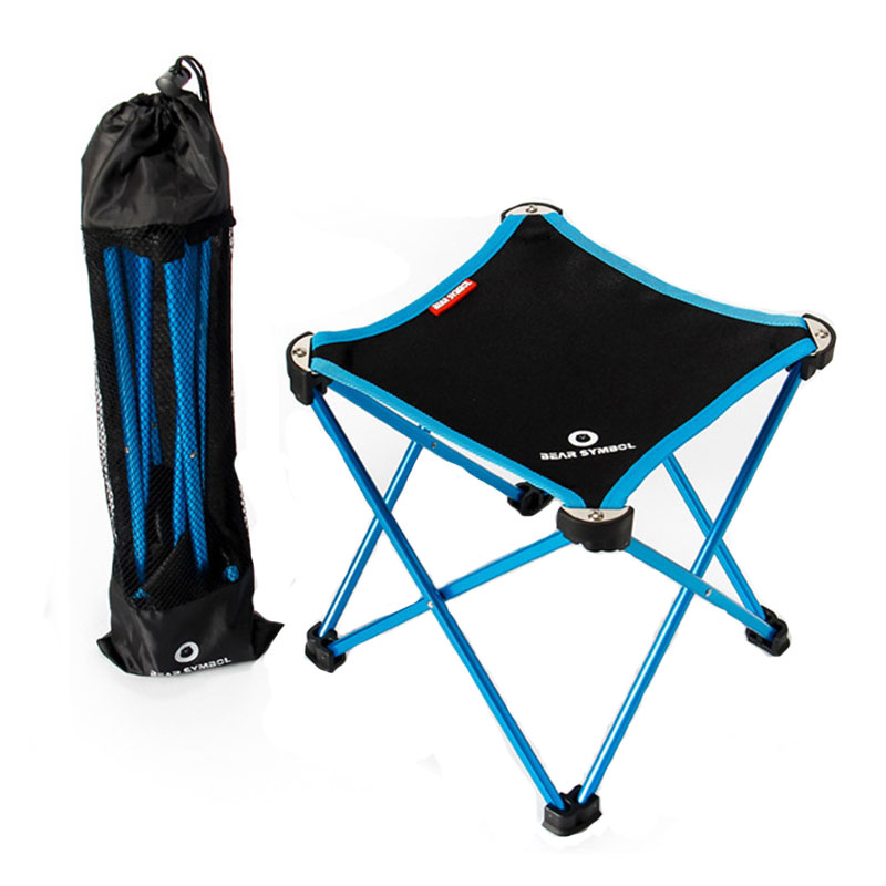 folding bag chair silver bows camping portable outdoor fishing oxford al alloy beach travelling garden gaming baby furniture for home in chairs from