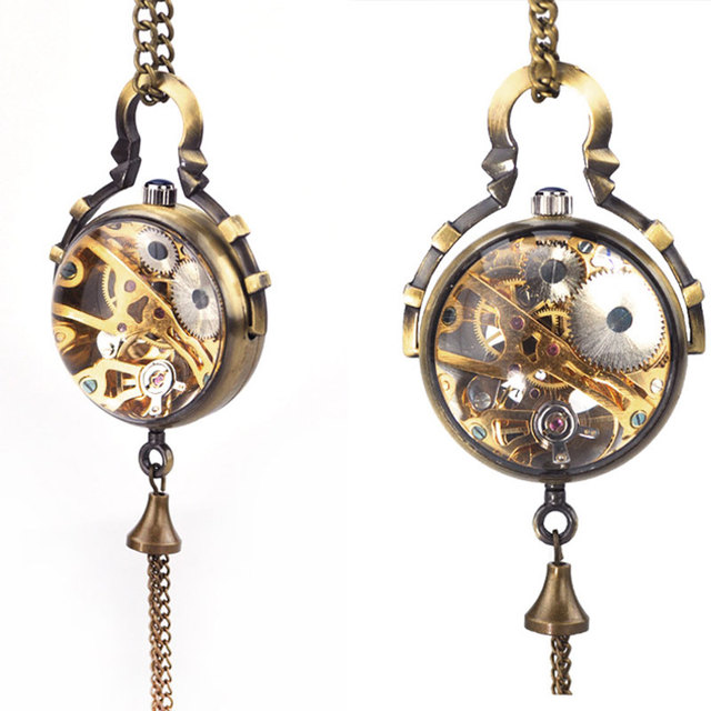 Steampunk Watch Necklace – Eternity Pendant