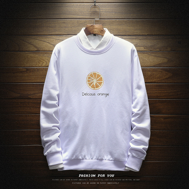 Men Sweatshirt Floral Printed Streetwear  4