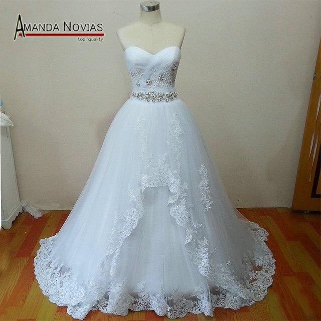 Hot Sale New Arrivals Amanda Brides Designer Real Sample Wedding