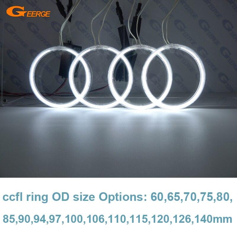 buy excellent ultra bright ccfl angel eyes kit halo ring od size options 60 65. Black Bedroom Furniture Sets. Home Design Ideas