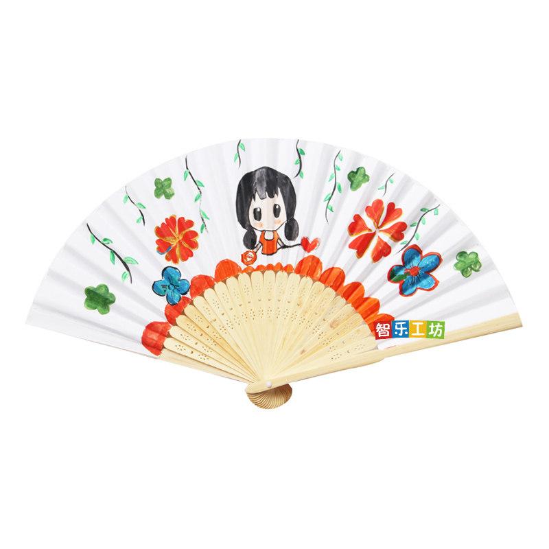 Hot Sale Chinese 721 Cm Origami Fan Pocket Folding Hand Held Outdoor Wedding Party Favor Event Supplies Sz002 In DIY Decorations From