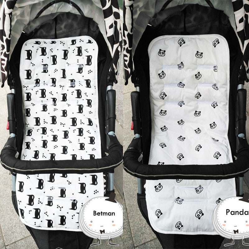 New Baby Stroller Cushion Seat Pad Cotton Star Seat Soft Children Trolley Baby Urine Pads Car