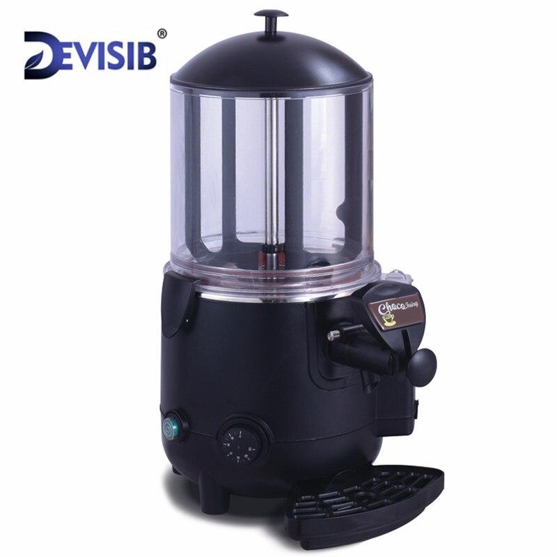 DEVISIB 10L Drinkware Hot Chocolate Machine Dispenser Commercial Coffee Drink Hot Drink Maker Drinker