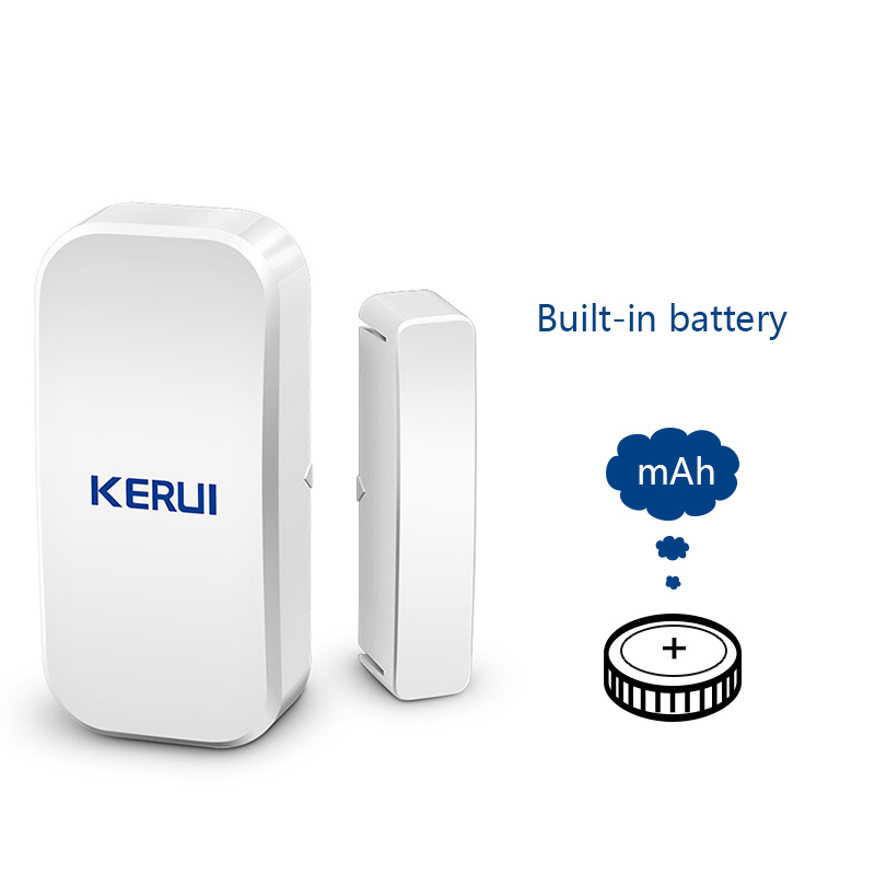 Orijinal KERUI D025 433 MHz Kablosuz Pencere Kapı Mıknatıs - Güvenlik ve Koruma - Fotoğraf 3