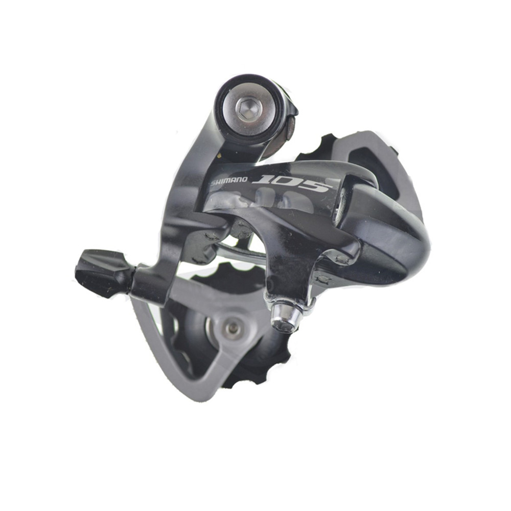 Black New Shimano 105 RD-5701 GS 10 Speed Road Rear Derailleur Medium Cage
