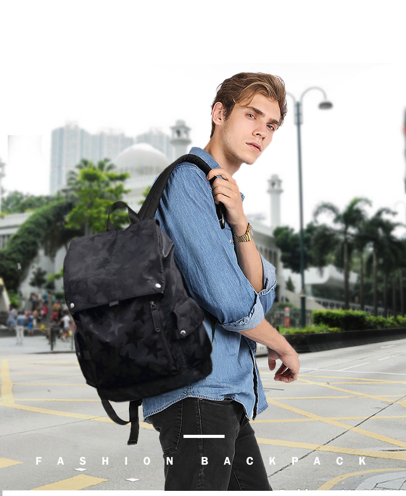 Men Waterproof Backpack HTB11nA5ayfrK1RjSspbq6A4pFXa7 Backpack