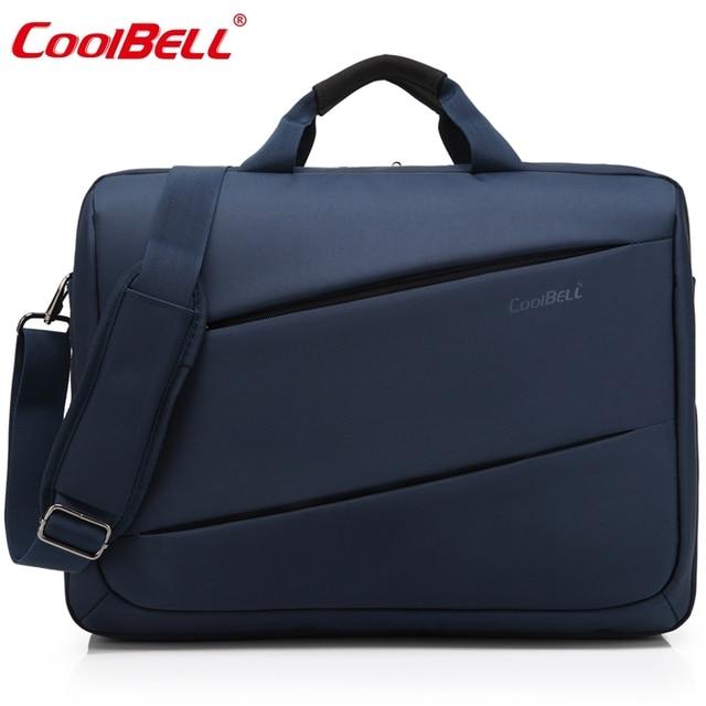 af89ea3ee61e US $52.29 |Cool Bell Men Women Bag 17/17.3 inch Top Handle Bag Lady Handbag  Male Shoulder Messenger Bag Business Tote Bag Fashion Briefcase-in ...