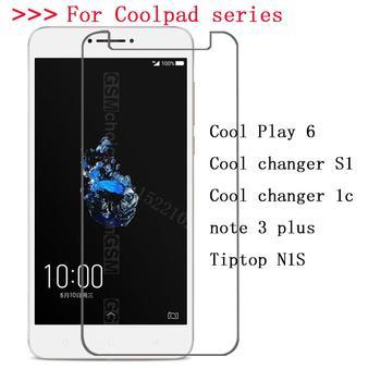 Перейти на Алиэкспресс и купить Закаленное стекло для Coolpad Cool changer S1 1c Play 6 Tiptop N1S note 3 plus Взрывозащищенная защитная пленка для экрана 55