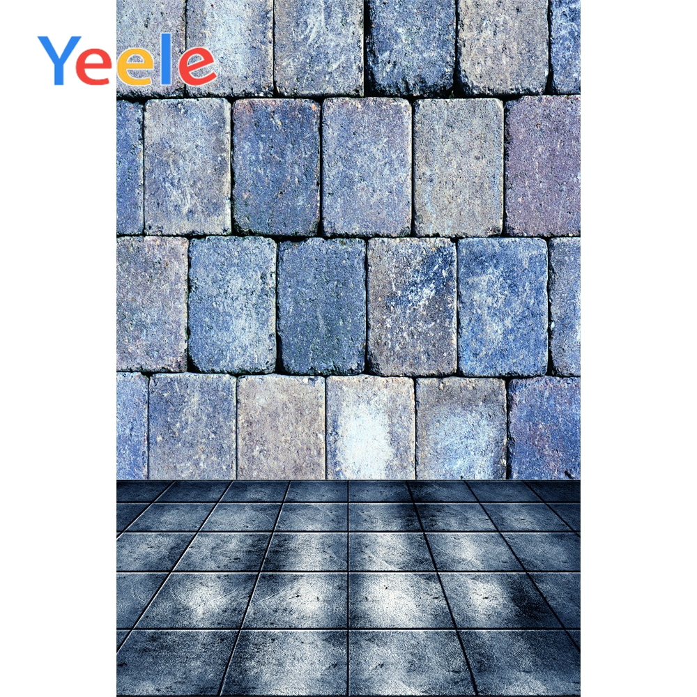Yeele Old Stone Wall Photographic Backdrops Brick Floor Portrait Grunge Photography Backgrounds Customized For Photo Studio