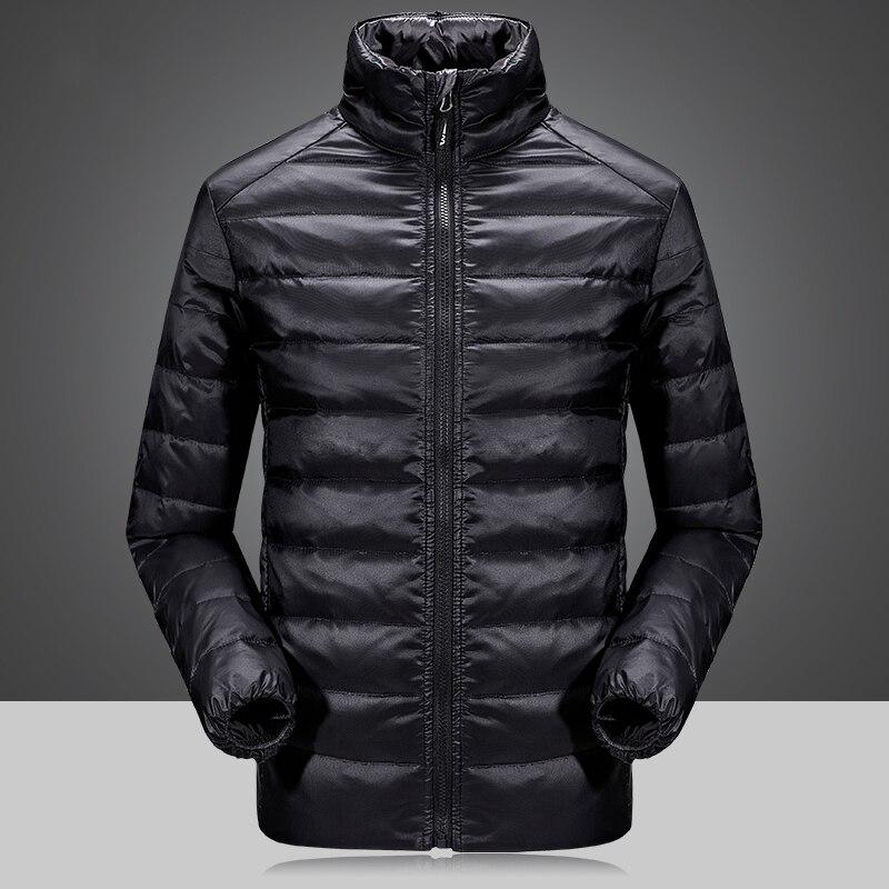2 Piece Men's Winter duck down jacket man top quality detachable waterproof windbreaker outwear 90% white duck down coat men 4XL - 4