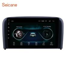 Seicane 9 дюймов Android 8,1 автомобильный блок радио для 2004 2005 2006 Volvo S80 gps навигация USB AUX поддержка Carplay DVR OBD Цифровое ТВ