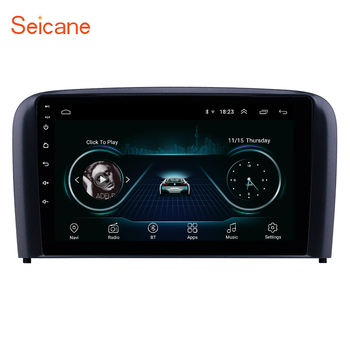 Seicane 9 inch 2din Android 8.1 car Radio GPS Car Multimedia player for 2004 2005 2006 Volvo S80 GPS USB AUX support Carplay image