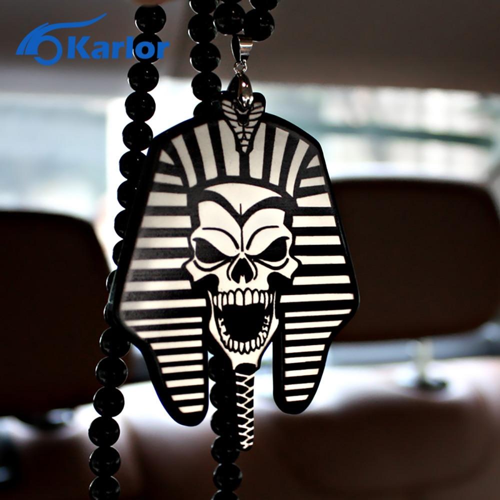 Car interior hanging - Pharaoh Egypt Ho Car Auto Fashion Pendant Jdm Interior Rear View Mirror Ornament Hanging Dangle Charm