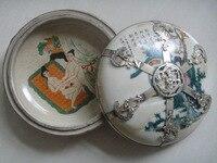 Porcelana Porcelana Rysunek KOCHAĆ Opancerzone Smok Feniks Szlachetne Rouge Box darmowa wysyłka