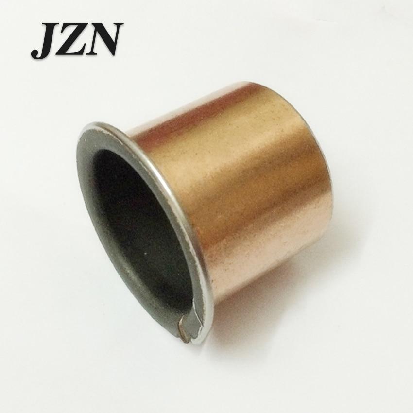 SF1-F Self-lubricating Oil Bearing Flange Non Oil Bronze Bushing 15/16/18