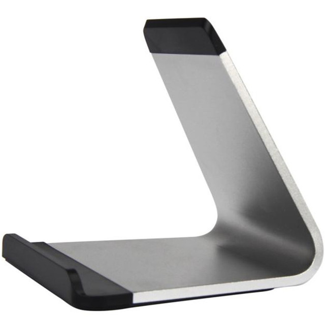 Woweinew 2016 New arrival Universal Noble Stylish Aluminum Holder Stand for iPhone Samsung Tablet PC Portable