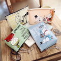 Lovely Cartoon Family Shoulder Bag Mini Cell Phone Pocket Small Handbag Personalized Funny Jelly Messenger Bag 4 Colors