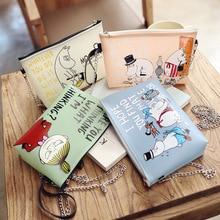 Lovely Cartoon Family Shoulder Bag Mini Cell Phone Pocket Small Handbag Personalized Funny Jelly Messenger Bag 4 Colors