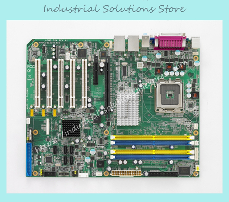 Industrial Motherboard AIMB-764 REV.A1 AIMB-764G2 LGA775 Board 100% Tested Perfect Quality high quality aimb 769vg 00a1e aimb 769 selling all kinds of boards