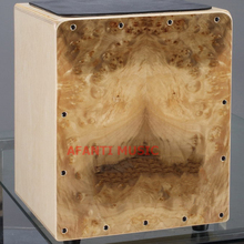 Afanti Music Birch Wood / Natural Cajon Drum (KHG-123)