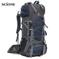 60L Travel Bag Camping Backpack Men Large Backpacks Hiking Outdoor Sport Bags Rucksack for Hiking Backpacks Mochlia Pack XA556WA