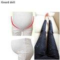 Bonita Do Laço de maternidade calças para mulheres grávidas Gravidez new leggings Mulheres Grávidas Moda Primavera Calças de Maternidade Fina